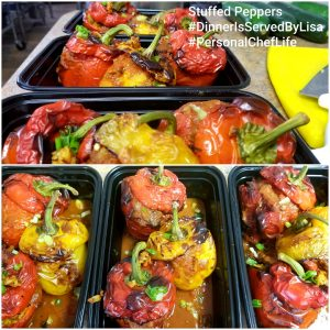 Multiple meal preparation meals created by Dinner Is Served in Erie, PA